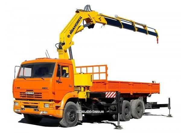 Услуги кран-манипулятор 10 тонн стрела 5 тонн